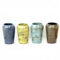 Céramique - Mugs - Eva Deajeanty  - <p>Eva Deajeanty vous propose ses mugs</p> <p>Modelage à la plaque, cuisson en haute température 1250°C</p> <p>Le travailproposé est artisanal. Le modelage offre des tailles approximatives, les couleurs sont des créations et peuvent varier. Ceci rend chaque pièce unique.</p>