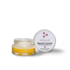 Baume à lèvres Bio - Ce baume certifié BIO sans conservateur ni colorant ou parfum de synthèse hydrate vos lèvres desséchées grâce au beurre de Karité et aux huiles végétales qu'il contient (Argan, Tournesol et Soja).