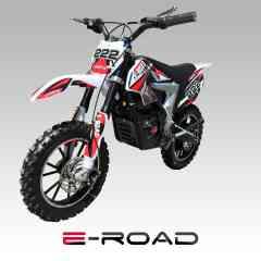E-ROAD MOTO ELECTRIQUE ENFANT - <p>La moto cross électrique Falcon est une véritable moto électrique qui permettra à votre enfant de rouler de façon économique et silencieuse tout en se créant de nouvelles aventures !<br />Elle est équipée d'un moteur 500W, 600W ou 800W pour un maximum de confort au niveau de la conduite. C'est un modèle incontournable dans sa catégorie ! Idéale pour l'apprentissage sa vitesse maximum peut atteindre 25km/h. (3 vitesses bridable : 6-15-25 Km/h)</p>