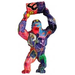 Richard Orlinski - Sculptures en résine, différentes tailles, couleurs et tags.