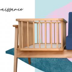 Fauteuil Constantine - Fauteuil-berceau évolutif 100% fabriqué en France, Constantine vous accompagnera pendant la première année de bébé pour les veillées, les tétées et autres moments de complicité.