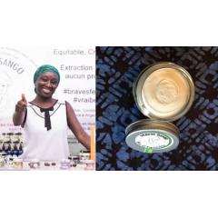 Beurre de karité 100% pur - Le beurre de karité 100% Pur, brut, non raffiné, Non désodorisé, Non blanchi, bio, équitable Mama Sango est extrait à froid en Guinée, de façon traditionnelle et artisanale, sans aucun produit chimique. #BravesFemmesdeGuinée