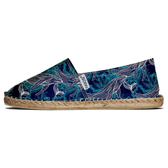 Espadrille recyclée du Pays Basque - Espadrille en recyclé fabriquée au pays Basque Made in France