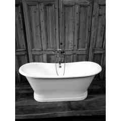Baignoire en fonte - Se détendre agréablement dans une baignoire en fonte