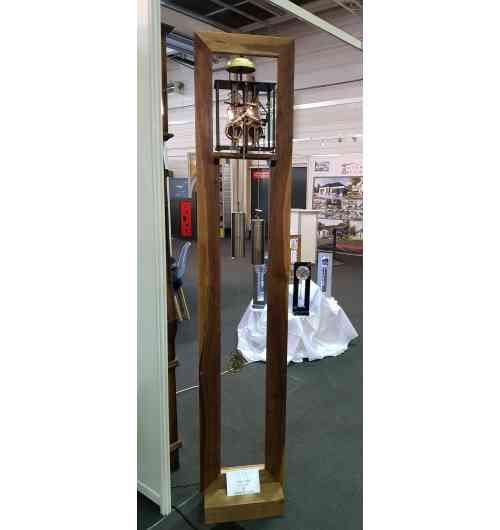 Horloge Evys II Vintage Noyer Massif - L'élégance d'une comtoise moderne dans le respect de la tradition