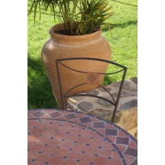 Table jardin mosaique - JARDIN, MOBILIER DE PLEIN AIR & VERANDA