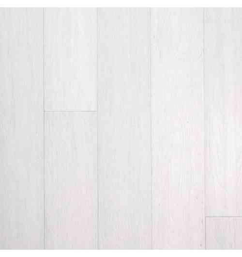 Parquet Bambou façon chêne blanc intense - Largeur 130 - Compatible pièces humides - Le parquet en bambou façon chêne blanc convient parfaitement à une salle de bain car il résiste à l'humidité