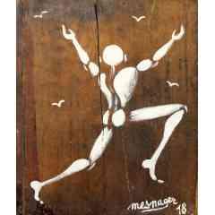 Mesnager - Acrylique sur toile