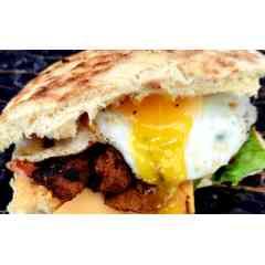 Sandwich suprême de poulet mariné