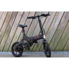 EMY S26 Noir Mat - Vélo Électrique Urbain Pliant Haut de Gamme