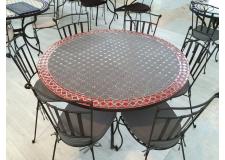 """Table mosaïque collection """"Ardoise"""""""