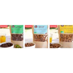Céréales Chocolat & Noix de Coco Les Céréales du Goût - Enfin des céréales du petit déjeuner saines et gourmandes pour les enfants et les grands ! Fabriquées en France avec de vrais bons ingrédients, elles sont idéales pour commencer la journée ou se faire plaisir lors d'un petit creux.