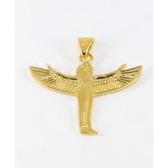 Déesse Isis - Déesse Isis, féminin sacrée. Symbole de l'envol du déblocage. Livre offert avec le bijou en argent, plaqué or ou or 18 carats à la commande.