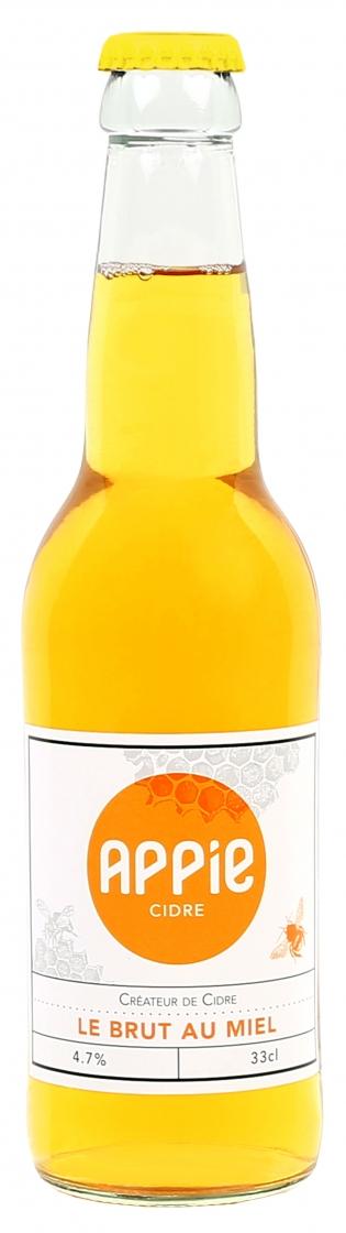 Le Brut au Miel - <p>C'est la savoureuse rencontre d'Appie et du vrai miel. La douceur du miel associée aux notes épicées de la cannelle et à la fraîcheur de la mandarine sentent bon les soirées au coin du feu.</p>