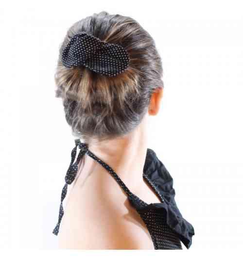 Bandeau chignon - Bandeau avec fil de fer permettant de réaliser un chignon rapide et facile.