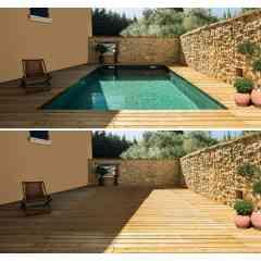 Plancher Mobile  --- Nouveauté --- - Avec Lift'O votre espace piscine est désormais un véritable espace de vie.Posé au fond de votre piscine le plancher mobile permet de transformer votrepiscine en terrasse par une simple pression sur un bouton.Un gain d'espace maximum pour une perte d'espace minimum !