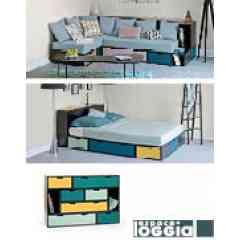 BRICKS©  - BLOC RANGEMENT - Des blocs de rangements modulables pour ranger, dormir, créer des escaliers, des cloisons, des banquettes ! un programme inventif