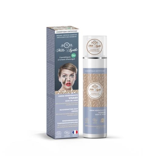 Gamme de cosmétique Bio à la bave d'escargot - <p>Les soins du visage que nous d&eacute;veloppons pour vous sont tous &eacute;labor&eacute;s &agrave; base de&nbsp;bave d&rsquo;escargot bio&nbsp;r&eacute;colt&eacute;e &agrave; la main en France. Prendre soin de vous tout en pr&eacute;servant nos escargots est essentiel. Gr&acirc;ce &agrave; cela vous b&eacute;n&eacute;ficiez d&rsquo;une&nbsp;cr&egrave;me de jour protectrice&nbsp;que vous couplez avec un&nbsp;soin de nuit bio&nbsp;qui nourrit votre peau.</p>
