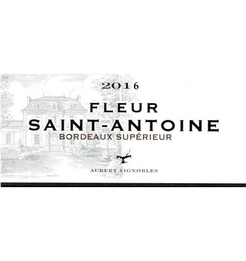FLEUR SAINT ANTOINE 2016 - AOC BORDEAUX SUPERIEUR