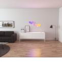 Nanoleaf Panneaux Lumineux - Rhythm Editon - <p>Éclairages connectés et design sous forme de panneaux muraux, les Nanoleaf Light Panels permettent de réaliser des ambiances lumineuses sur-mesure, selon les envies des utilisateurs : lever de soleil le matin ou aurore boréale le soir, les panneaux s'assemblent au gré de vos humeurs, sans aucune limite ! <br /> <br />Véritable puzzle de lumière, les Nanoleaf Light Panels s'imbriquent les uns aux autres, sans clous ni vis, grâce à des bandes adhésives double-face. Couleurs, luminosité et mouvements de lumières, tout est réglable directement sur l'unité de commande des panneaux ou via l'application Nanoleaf (disponible sous IOS et Google Play). Cette dernière permet de contrôler totalement les panneaux pour créer ses propres animations ou utiliser celles déjà préétablies par Nanoleaf. Compatibles avec Apple HomeKit, Google Assistant, Amazon Alexa ou encore IFTTT, les panneaux lumineux Nanoleaf sont pilotables vocalement grâce à leur intégration aux systèmes de maison connectée.</p>