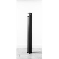 Pied Uzy 750 - Pied de table haute 750 mm, adaptable sur des plateau de 30 mm et plus pour créer une table, un bureau...