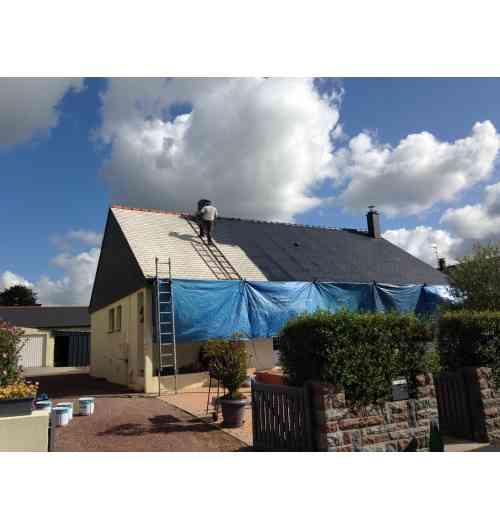 Hydrofuge coloré pour toiture et façade inovatis