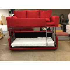 CANAPÉ-LIT DUO - Canapé lit superposé 2 couchage de 80x190