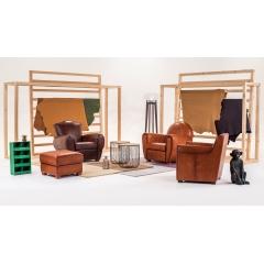 CLUB - Le fauteuil Club traverse le temps et s'adapte à toutes les modes en transformant sa forme. On retrouve chez Neology le modèle Carlton, Chester ou encore Cardiff.