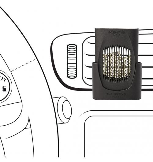 CAPSY - Un bijou parfumé pour un trajet en voiture transformé. Simple d'utilisation, peu encombrant, léger et discret, il peut grâce à son système universel de fixation se clipper aisément sur la grille de ventilation de tout type de voiture.  De petites perles de polymère contenant du concentré de parfum pur, sans alcool ni solvant sont retenues dans des capsules. Traversées par un souffle d'air, elles libèrent le parfum.  Interchangeables et sans rémanence, elles offrent une restitution de qualité des notes du parfum, en fonction du renouvellement d'air dans le véhicule. Une technologie française innovante et brevetée respectueuse de la santé et de l'environnement.  Let it transform your car trips. Easy to use, compact, light and discreet, it can be clipped to the air vent in any type of vehicle.  Capsules contain small polymer beads filled with pure fragrance concentrate, with no alcohol or solvents. They release the fragrance when the diffuser forces air through them.  They are interchangeable and leave no residual scent. The fragrance is accurately reproduced as air circulates through the vehicle. Patented, innovative technology that is safe for health and the environment.