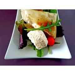 Brick fromage de chèvre tomate basilic et huile d olive