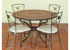 TABLE MOSAIQUE - ARTISANAT