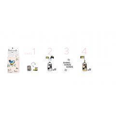 kit ma fabuleuse lessive maison - Chez Pimpant, nous vendons plus que des kits de super lessive, nous offrons à chacun un moyen d'action pour rendre le monde plus propre. Comment?  Nous avons créé un concept révolutionnaire: un kit pour faire en 2 minute, chez soi, directement sa bouteille, avec juste de l'eau du robinet, une fabuleuse lessive liquide très efficace et dont vous pourrez être fiers. Le kit Pimpant est unique au monde: - il est composé d'ingrédients pré-dosés et sains : des actifs d'origine naturelle; des ingrédients rapidement biodégradables et tous écocertifiés - La lessive liquide est réalisable facilement en 2 minutes et 4 étapes, à température ambiante et directement dans la bouteille avec de l'eau du robinet. - Une formule de lessive efficace, testée en laboratoire et pour qui fait l'objet d'un dépôt de brevet. - nous produisons sur le territoire franaçis pour limiter les transports et participer à l'emploi sur le territoire. - et parce que nous aimons notre belle planète, nous la protégeons. Nous sommes une entreprise engagée, membre de l'association 1% pour la planète