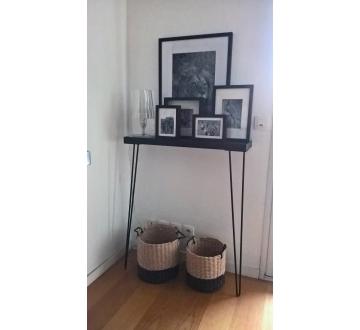 Pied De Table 90 Cm.Pied De Table 90 Cm Hairpin Legs