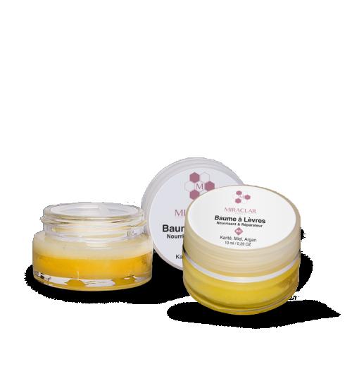Duo baumes à lèvres bio - Ces baumes certifiés BIO sans conservateur ni colorant ou parfum de synthèse hydrate vos lèvres desséchées grâce au beurre de Karité et aux huiles végétales qu'il contient (Argan, Tournesol et Soja).