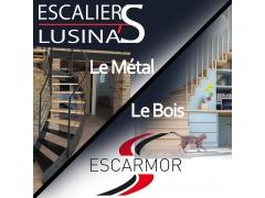 Escaliers Lusina'S - Escarmor - CONSTRUCTION & AMELIORATION DE L'HABITAT