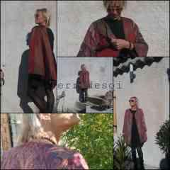 Manteau - Exterieur tissu de laine, intérieur soie . Suivant la soie a l'intérieur le manteau est adapté à  l'hiver ou a la demi saison