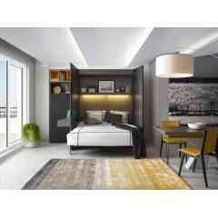 NOCTURNE - NOCTURNE de PREFACE est un concept de lits relevables, conçu par Gautier, qui s'associe harmonieusement à la collection de rangement PREFACE. Imaginé pour répondre aux besoins des nouveaux modes  de vie urbains (espaces au sein de la maison ou d'appartement  nécessitant des aménagements malins tout en restant esthétiques).  Nocturne de Preface est disponible en 5 finitions et s'intègre donc  à tous les styles de décoration