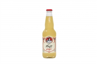 1642 Sodas - <p>Le goût authentique de Montréal dans un cola pétillant fait à partir d'ingrédients du terroir et d'un soupçon de sirop d'érable: c'est ce que vous promet la boisson 1642 Cola! En nouveauté cette année, le 1642 Ginger,un soda au gingembre et à l'érable fait d'ingrédients naturels.</p>