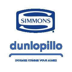 SIMMONS - DUNLOPILLO - LITERIE