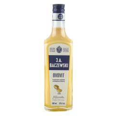 J.A Baczewski Ovovit / Oeufs, Lait, Vanille - Liqueurs à base de vodka, jaune d'oeuf, lait, vanille et amande, une vraie crème anglaise