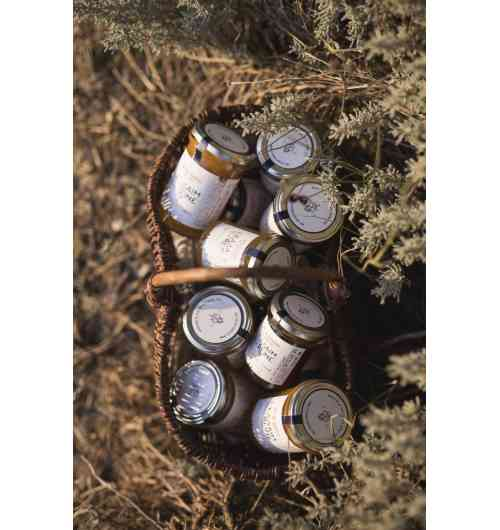 Miels de crus monofloraux du Sud-Ouest de L'Essaim de la Reine - Miels de crus monofloraux du Sud-Ouest disponibles en pots de 250g et 400g - Tilleul - Tournesol - Chataigner - Bourdaine des Landes - Acacia
