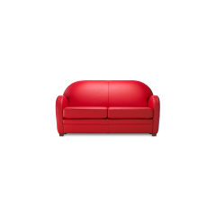 CANAPE ET FAUTEUIL CARDIFF - <p>D'inspirationclub, cepetit canapé de faible profondeurpeut accueillir un mécanismeconvertibledans différentes tailles.</p>