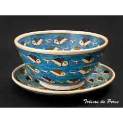Ceramiques  - <p>La poterie est l'une des plus anciennes formes artistiques, pratiquee et maitrisee a la perfection depuis des milliers d'annees en Iran. Inspire par des motifs typiquements persans, vous trouverez une vaste selection de ceramiques dediees a votre salon, salle de bain, jardin et cuisine.</p>