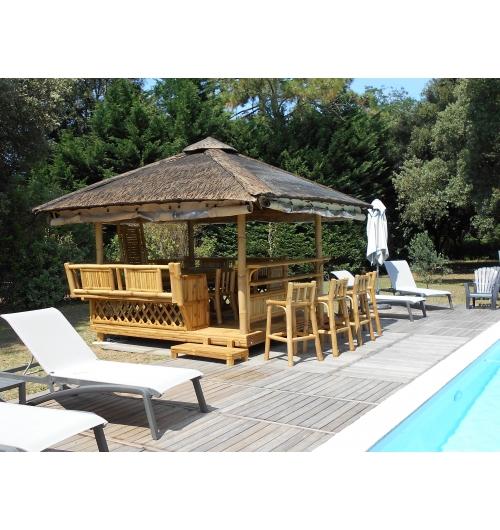 Paillote de jardin, gazebo, pergola,  - <p>Artisanat d'art en bambou . NIPAHUT est une marque franco-philippine de paillote de luxe en bambou. Concepteur, fabricant, installateur et sans interm&eacute;diaire, NIPAHUT est l'unique fabricant fran&ccedil;ais.</p>