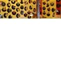 Disque vinyles décoratifs - <p>Disques vinyles découpés et transformés en objet de décoration.</p>