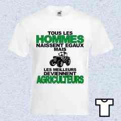Tee Shirt Les Meilleurs - Agriculteurs
