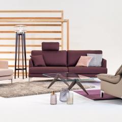 Axel - Canapé 200 cm et fauteuil