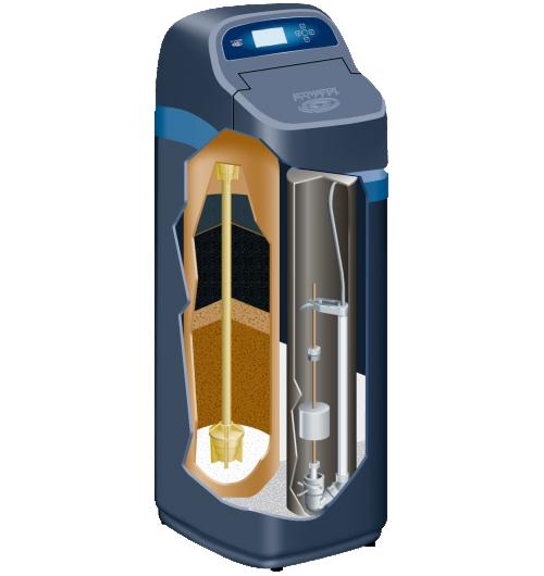 AFFINEUR D'EAU - ECOWATER est le premier fabricant mondial d'affineurs d'eau à usage domestique, avec plus de 90 ans d'expérience, réputé pour la fiabilité et les performances de ses appareils, à la pointe de la technologie. Le mode de régénération est unique et breveté, très économique en eau et en sel. Les affineurs ECOWATER disposent d'un écran d'informations en français, clair et convivial. Ils sont connectés. Ils traitent l'ensemble des problématiques liées à l'eau, avec le même appareil pour toute la maison : la plomberie et les machines sont protégées du calcaire, le linge est plus agréable, la peau reste douce et soyeuse. Les substances indésirables et nuisibles sont filtrées : mauvais goûts et odeurs de l'eau, chlore, pesticides, métaux lourds, composés organiques volatils, etc. (plus de 50 contaminants sont éliminés).