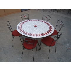 TABLE MOSAIQUE - JARDIN - PISCINE - SPAS - VERANDA
