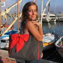 Sac cabas femme - Grand sac cabas en tissu pour femme. Pratique et léger ce sac cabas femme a du style !